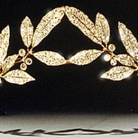 Westminster Theme Week: the Laurel Wreath Tiara (Wednesday)