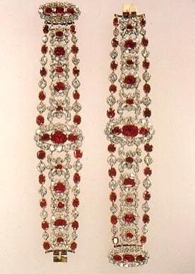 tiara time Marie Thrses Ruby  Diamond Parure  tiaras