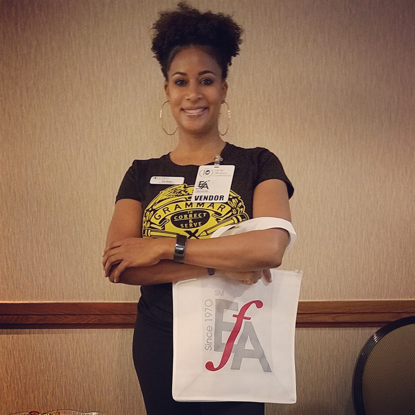 Tia Ross, Editor - Editorial Freelancers Association - DFW WriterCon Writers Conference