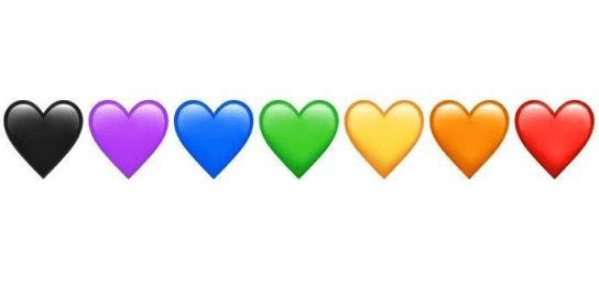 Arti emoji hati pada whatsapp