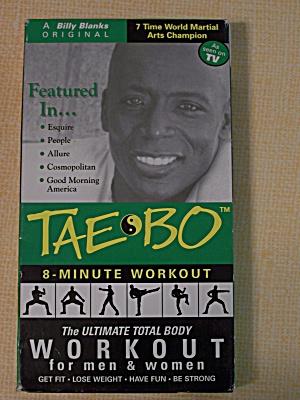 Tae Bo 8 Minute Workout : minute, workout, 8-minute, Workout