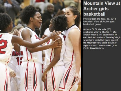 (11.18.2014) Mountain View vs Archer - 2 (11.18.2014 - After Buzzer Shot with write up)