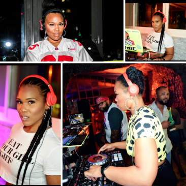 BLACK FEMALE DJ