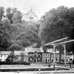 Caestert kasteel Klein Ternaaien brug sluis