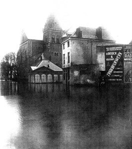 Graanmarkt 1926 watersnood 1
