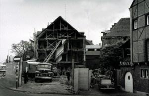 Het Bat 196. - Houtmaas afbraak sluiswachterswoning Hogenboom