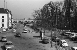 Het Bat 1968 - Maasboulevard in aanleg