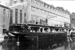 Laden lossen bij ENCI jaren 50