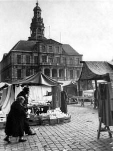 Markt ±1950 marktdag