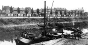 Zuid Willemsvaart met Bosscherweg 1943.