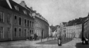 Grote Looierstraat na demping Jeker ±1899