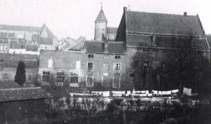 Pesthuis als oude Papiermolen ± 1900