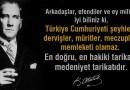 Türkiye Cumhuriyeti Şeyhler, Dervişler Ülkesi Olamaz