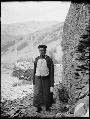 Sönam Wangyel (Kusho) Palhese en 1920/1921 © Tibet Album