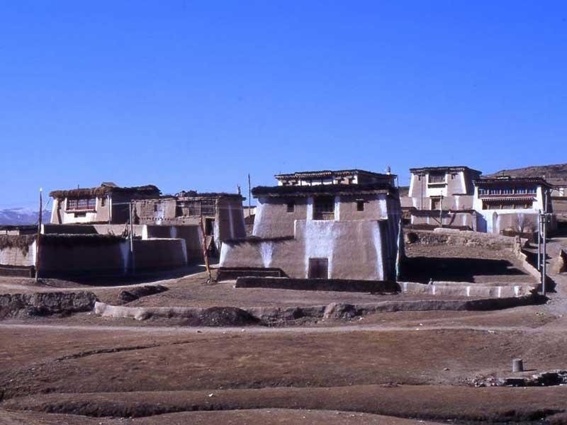 Aba Tibetan houses