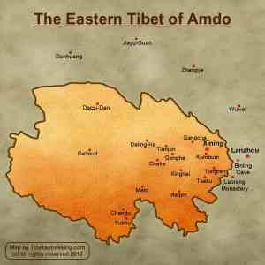 Amdo Map