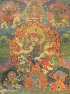 Tibetan Buddhism Iconographic King-of-body
