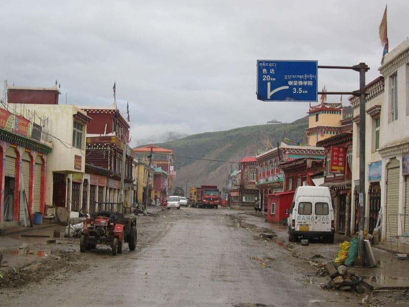 Larung town