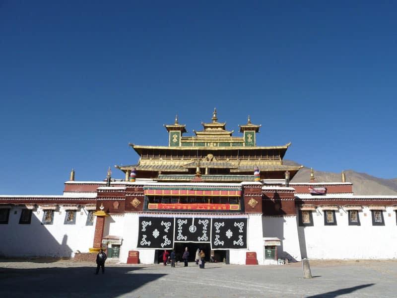 Samye Monastery front gae