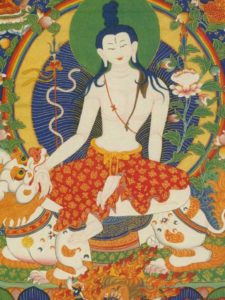 Tibetan Buddhism Iconographic Simhanada Senge Ngaro