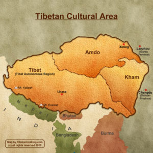 Tibet mapmini