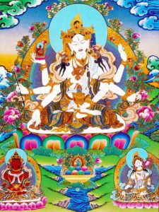 Tibetan Buddhism Iconographic Vijaya Namgyelma