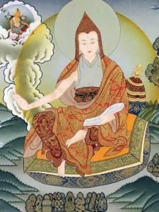 Tibetan Buddhism Iconographic - Part ii asanga thok me