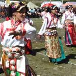 Tibetan female dance