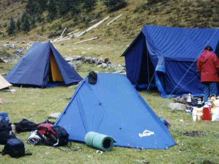 dege trek camp site