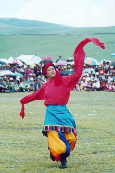 litang Tibetan dancer