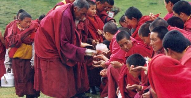 Dzogchen monastery puja