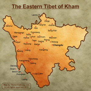 Kham mapmini