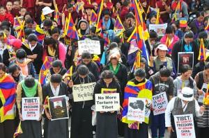 Tibetan Women Protest