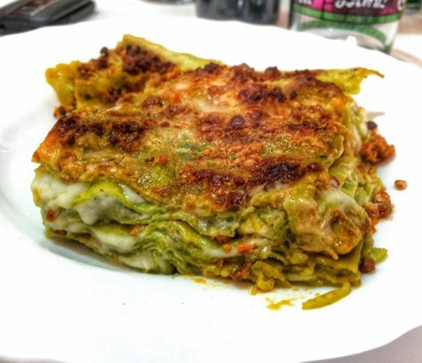 Lasagne verdi emiliane per TiGusto
