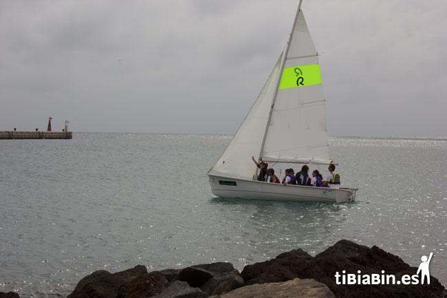 """""""Mar de Iguales, Vela Adaptada en Fuerteventura""""."""