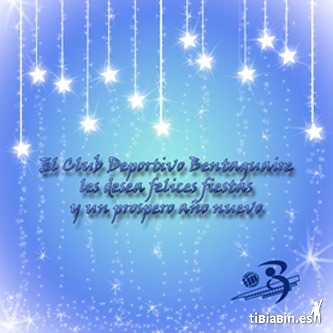 Felicitación navideña: C.D. Bentaguaire