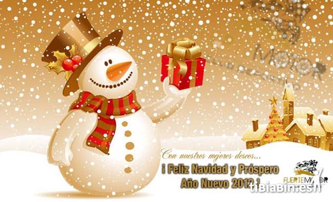 Felicitación navideña: C.D. Fuertemotor