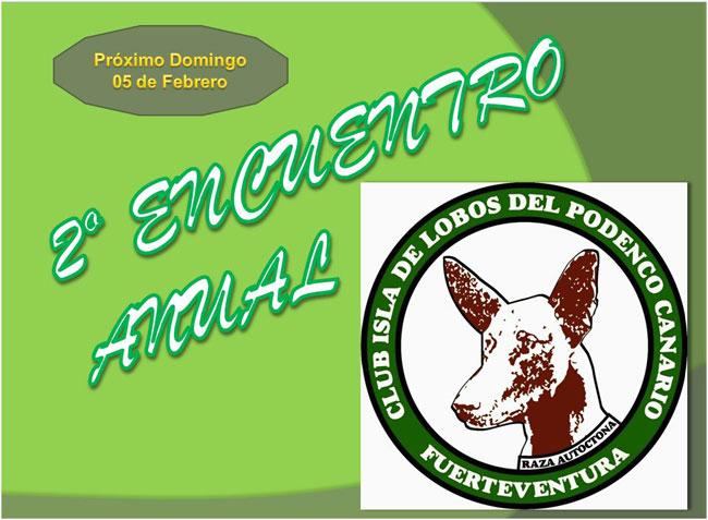 2º Encuentro Anual: Club Isla de Lobos del Podenco Canario
