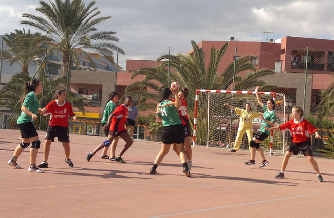La 3ª jornada concluye con suerte dispar, para los equipos del Club Balonmano Morro Jable