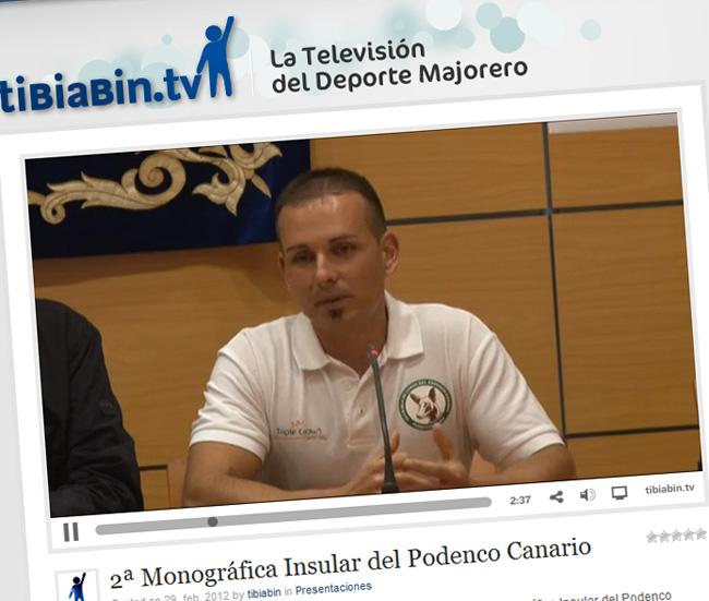 Presentación 2ª Monográfica Insular del Podenco Canario en tibiabin.tv