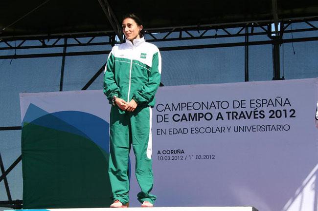 El atletismo majorero y la isla de Fuerteventura se congratulan de los éxitos de Solange Pereira