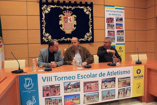 """""""VIII Torneo Escolar de atletismo La Caja de Canarias-Gran Premio Cabildo de Fuerteventura"""""""