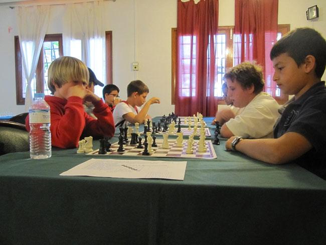 Campeonato escolar 2012 de ajedrez