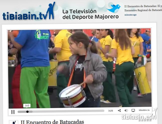 Vídeo del II Encuentro de Batucadas en tibiabin.tv