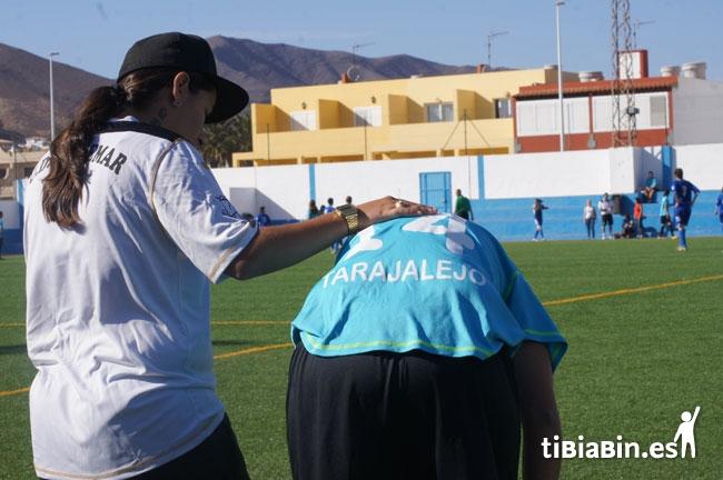 Todo listo para el 'V Torneo de Fútbol 7 Femenino' que se celebra mañana en el Estadio Municipal de Antigua