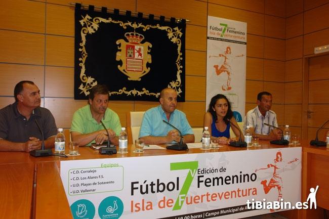 El fútbol femenino majorero despide este sábado la temporada en el 'V Torneo de Fútbol 7 Femenino – Isla de Fuerteventura'