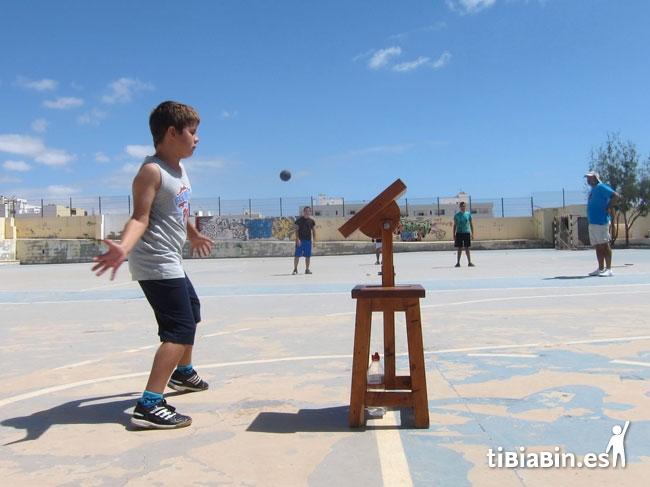 El taller de iniciación a la pelotamano celebra con éxito una nueva edición en el IES San Diego de Alcalá