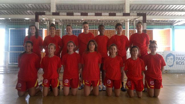 Los seleccionadores canarios, de la infantil femenina,  visitan Fuerteventura