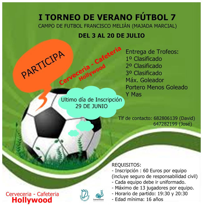 I Torneo de verano fútbol 7