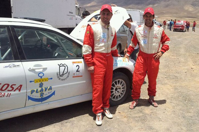 Gustavo Sosa y Rogelio Peñate vuelven a Fuerteventura para comenzar el Campeonato FuerteMotor–Isla de Fuerteventura